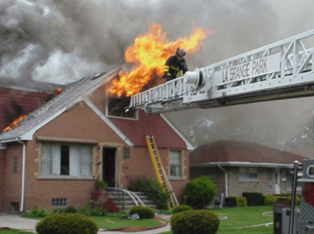 fire damaged homes